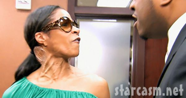 Video Who Gonna Check Me Boo Sheree Whitfield And Party Planner Anthony Shorter Fight Whitfield My Boo Fashion