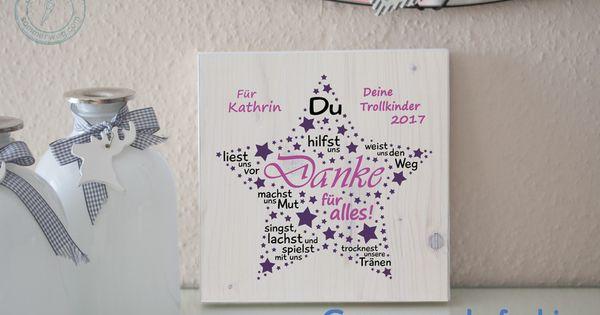 Wanddeko der kita stern geschenk erzieherin for Geschenk erzieherin