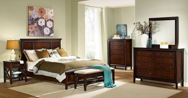 Urban Living Bedroom Collection American Signature Furniture Queen Bed 879 97 For Queen Bed Night Stand Chest Bedroom Sets Pinterest