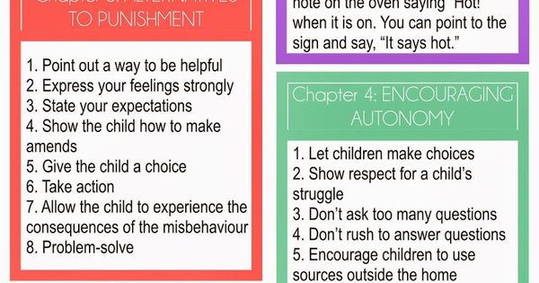 My favourite book! I've made a summary for you busy parents in