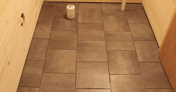 Staggered Tile Pattern Our Basement Part 33 Installing