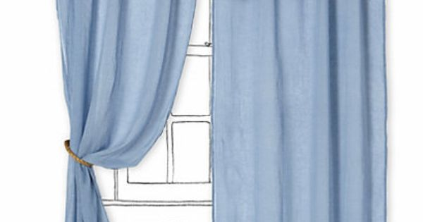 Blue Ombre Window Curtains: Ombre Waves Curtain #anthropologie