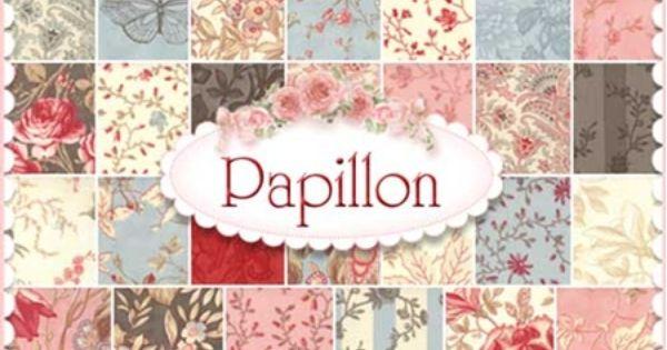 Moda Papillon Layer Cake