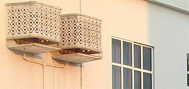 How To Hide An Air Conditioner Wall Unit Outside Google Search