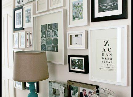 cute wall decor idea