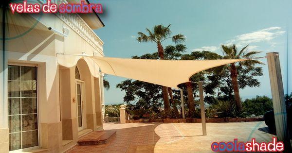 Instalacion velas de sombra toldos vela sol pinterest - Toldos para patios exteriores ...