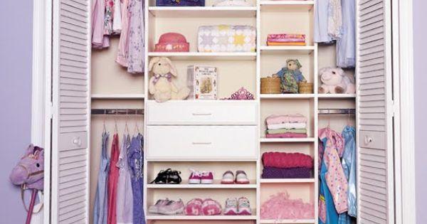 Closet para ni as closets para ni os pinterest for Closet pequenos para ninos