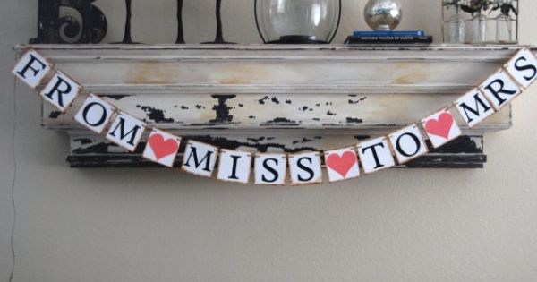 cute sign for bridal shower banner