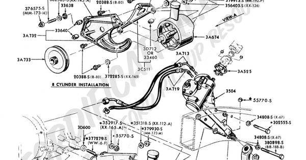 1977 Ford Truck Steering Diagram