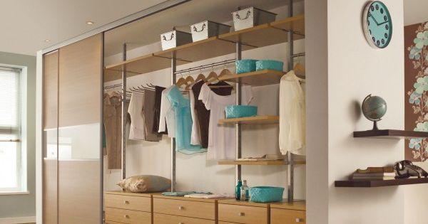 Good garderobe kleiderschrank inneneinrichtung ohne t ren Interieur Design Pinterest Apartments and Living rooms