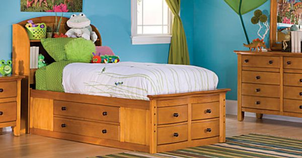 Anderson Youth Bedroom Collection Twin Storage Bed Storage Bed Bed