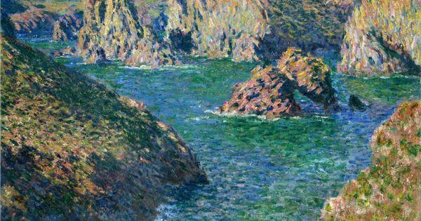 Claude monet port donnant belle ile 1886 art for Port donnant belle ile