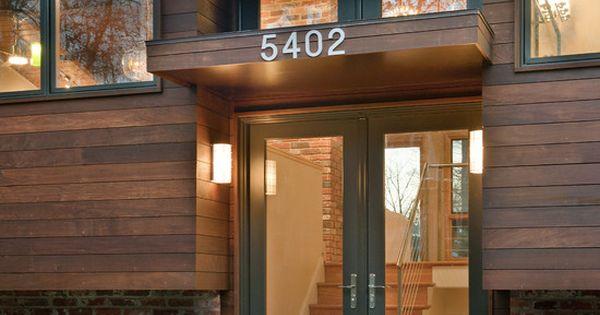 Contemporary Split Foyer : Quot modern revisited split entry remodel exterior
