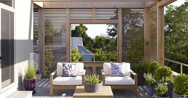 Terrace in a hamptons residence designed by austin patterson disston architects alfresco - Residence secondaire austin patterson disston ...