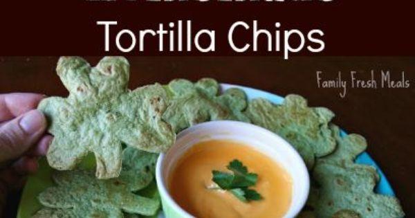 EASY Homemade Tortilla Chips | Recipe | Homemade, Homemade tortillas ...