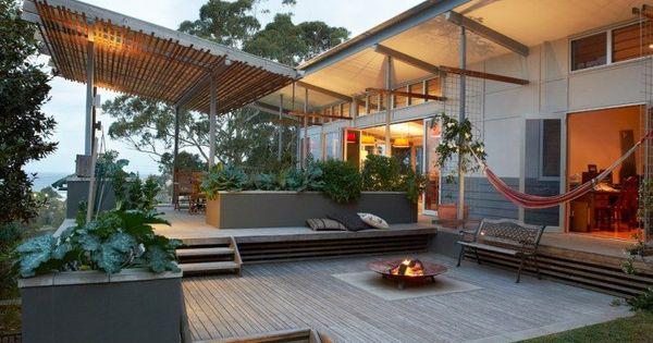 20 idées créatives d' aménagement terrasse ensoleillée  Foyers ...