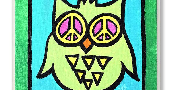 Wall Art Greenpeace : Look what i found on zulily green peace owl wall art by