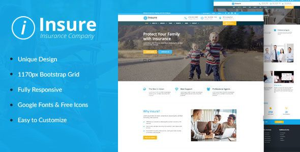 Insure Insurance Finance Business Html Template Business
