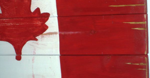 canadian flag leaf