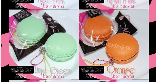 Cafe De N Squishy Package : Cafe De N Squishy Macaroon Charms   USD6 Kawaii Pinterest 2!, Macaroons and Charms