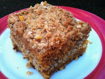 Pumpkin Crumb Cake Recipe - Southern Plate & ZipList