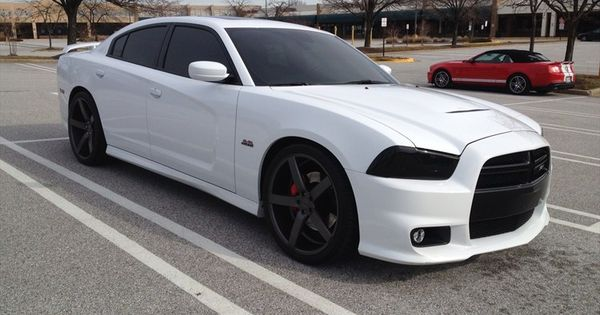 2014 Dodge Charger White With Black Rims | bedroom ideas ...