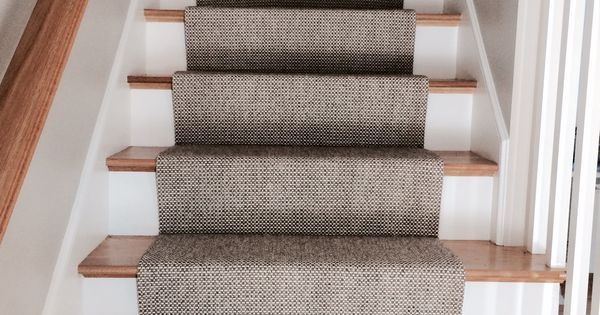 Merida flat woven wool stair runner by staircases house for Woven carpet for stairs
