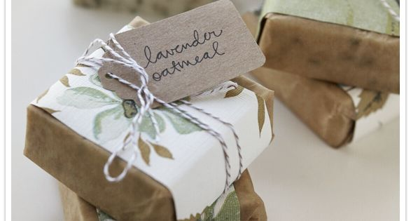 Soap Packaging Ideas | Eco-Friendly Wedding Favor Inspiration | Weddingbee PRO