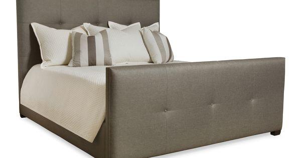 Bernhardt derrick tufted bed high home decor for D furniture galleries rockville md