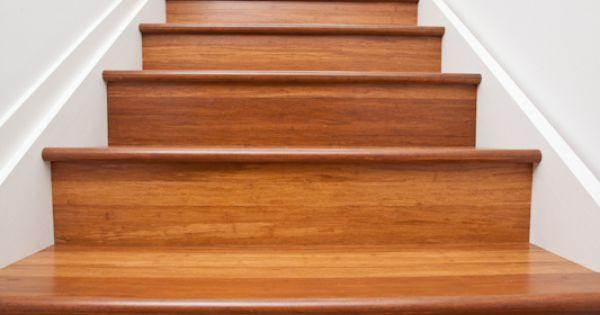 Escaleras de madera de bamb bamb tarimas macizas - Escalera de bambu ...