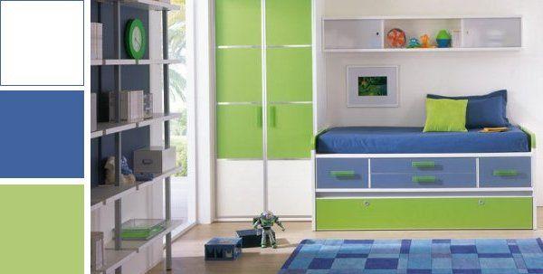 Habitacion Nino Verde Azul Blanco Cerca Amb Google Decorar Habitacion Ninos Dormitorios Colores Para Habitaciones