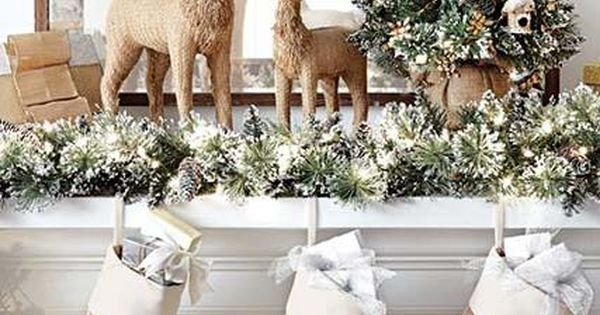 Deck out your mantel in holiday cheer with the martha for Martha stewart home decorators collection