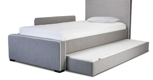 Modern Dorma Upholstered Twin Bed
