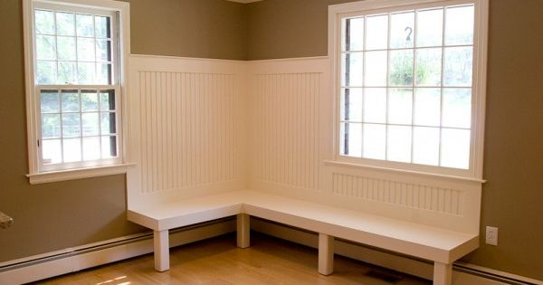 Banquette Seating Over Baseboard Heater Bench