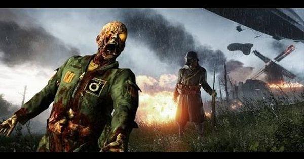 Battlefield 1 Fort De Vaux Zombies They Shall Not Pass Dlc