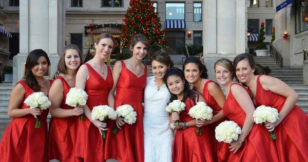 Bridesmaids christmas bridesmaid dresses and bridesmaid on pinterest