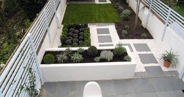 Dise o de patios buscar con google exteriores for Disenos de jardines modernos pequenos