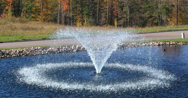 3400vfx Amp 3400hvfx Aerating Fountains Pond Aerators