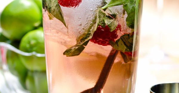 How about a Raspberry Basil Mojito for a specialty drink?