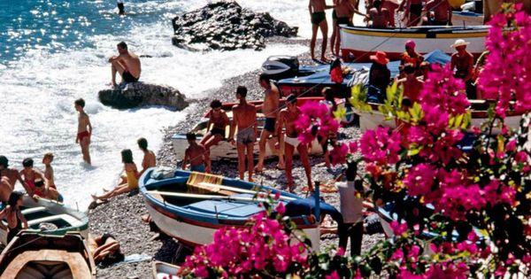 Capri Beach Clubs 2019 Edition | Beach club, Italy ...  |Capri Beach Scenes