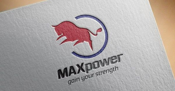 Max Power Logo Template