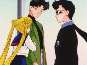 Sailor Moon Sailor Stars Episode 173 Mamoru Meets Seiya Sailor Moon Stars Sailor Moon Usagi Sailor Moon Girls