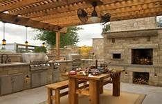Guy Fieri Outdoor Kitchen Layout Pinterest The World S Catalog Of Ideas Outdoor Kitchen Decor Outdoor Kitchen Design Outdoor Kitchen