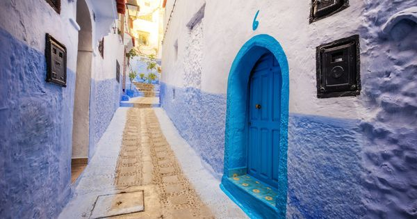 Blue Alley Morocco By Trey Ratcliff Travel Pinterest Morocco Beautiful Places And