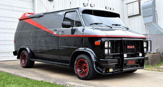Hcr Modeling 46 Movie Wheels Tribute A Team Van Gmc Vans Tv