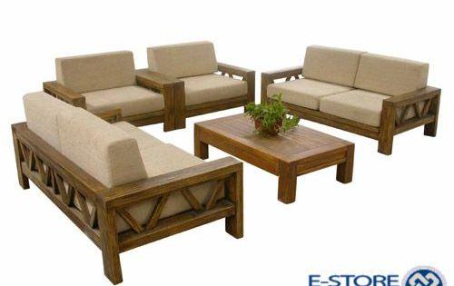 Modern Wood Sofa Sweet Idea   Ideas About Wooden Set Designs