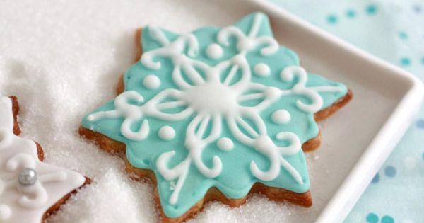 snowflake cookies BRAnnaK