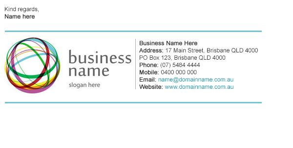 Professional Email Signature Business Templates Email Signature Templates Professional Email Signature Email Signature