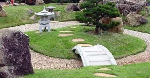 Peque o jard n japon s jard n pinterest peque o - Jardin japones pequeno ...