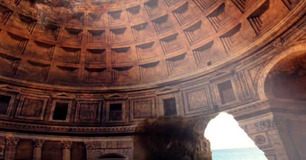 Stunning! Even if it is an overlay of the Pantheon it is